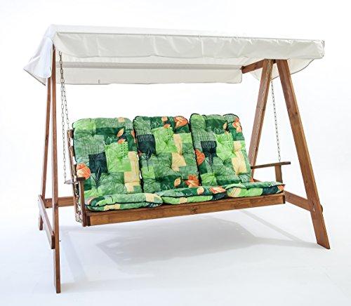 Hollywoodschaukel Holz Kesseldruckimprägniert ~ Hollywoodschaukel aus KVH Holz von Gartenpirat® online kaufen bei