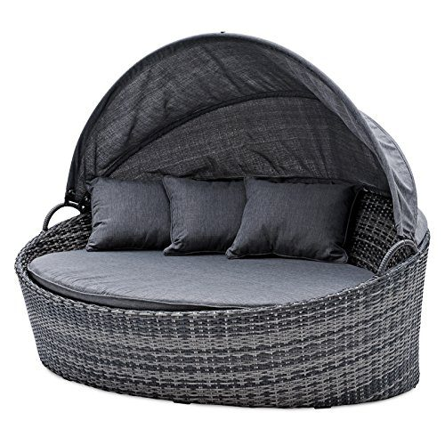 belardo minois garten sonneninsel oval grau sonnendach mit. Black Bedroom Furniture Sets. Home Design Ideas