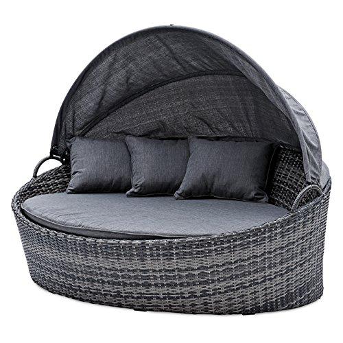 belardo minois garten sonneninsel oval grau sonnendach mit. Black Bedroom Furniture Sets. Home Design Ideas