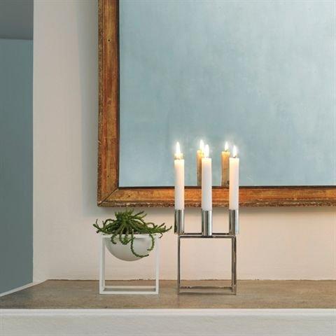by lassen schale kubus 14cm wei online kaufen bei woonio. Black Bedroom Furniture Sets. Home Design Ideas
