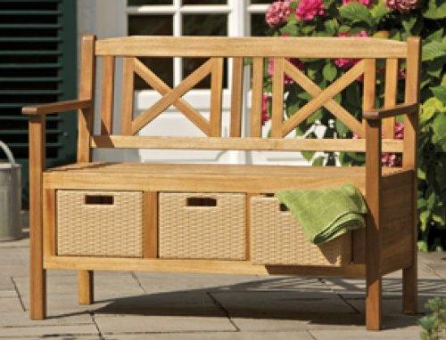 Consul garden bank 2 sitzer sevilla akazie braun 109x47 5x116 cm online kaufen bei woonio - Gartenbank sevilla ...