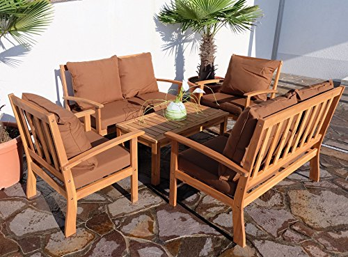 edles garten sofa set lounge gartengarnitur gartenset. Black Bedroom Furniture Sets. Home Design Ideas