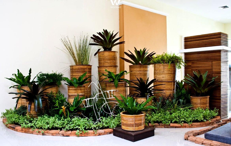 ein blumenbeet der anderen art - wohnidee by woonio, Hause und Garten