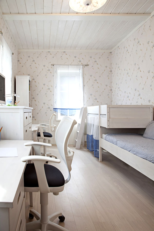 helles beige gehaltenes kinderzimmer f r geschwister wohnidee by woonio. Black Bedroom Furniture Sets. Home Design Ideas