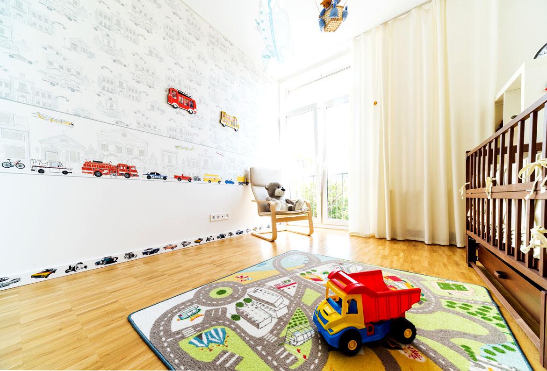M glichst viel licht im kinderzimmer ist wichtig wohnidee by woonio - Licht kinderzimmer ...