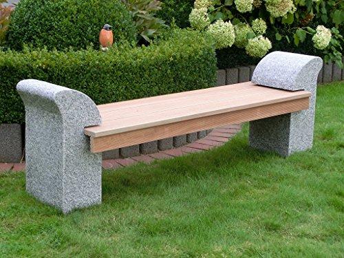 Gartenbank stein granit 000041 eine - Gartenbank stein ...