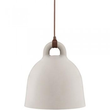 Normann-Copenhagen-Pendelleuchte-Bell-medium-sand-502102-0