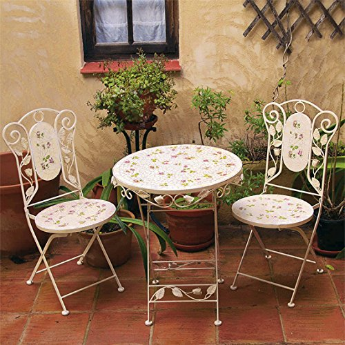 ptschke ambiente mosaik sitzgruppe garten idylle2 sthle 1 tisch 0. Black Bedroom Furniture Sets. Home Design Ideas
