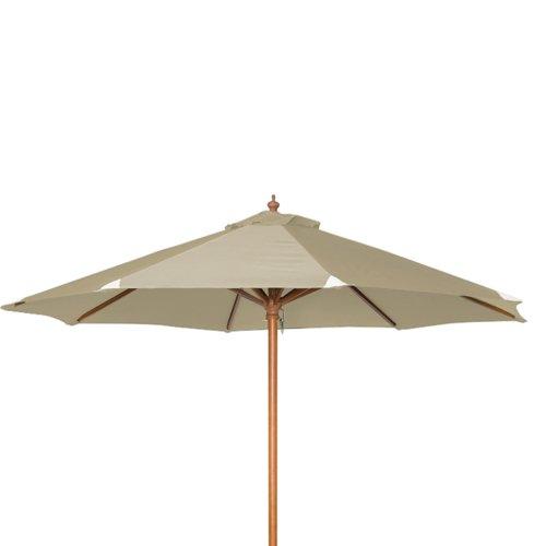 siena garden 209105 sonnenschirm holzgestell teakoptik. Black Bedroom Furniture Sets. Home Design Ideas