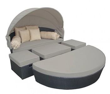 essella polyrattan sonneninsel mauritius in wei online kaufen bei woonio. Black Bedroom Furniture Sets. Home Design Ideas