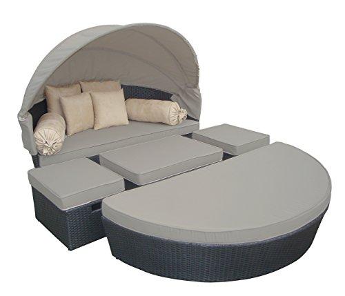 sonneninsel kuschelmuschel das relaxm bel aus polyrattan jetzt als komplettpacket online. Black Bedroom Furniture Sets. Home Design Ideas