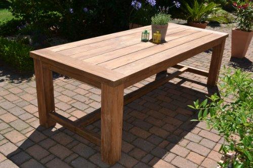 ... Teak Sessel Garten By Teak Sitzgruppe Garten Garnitur Tisch 240x100 Und  8 ...