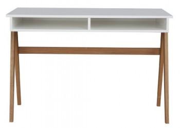 Tenzo-2020-454-Strada-Designer-Schreibtisch-Untergestell-Eiche-massiv-75-x-110-x-55-cm-wei-eiche-lackiert-matt-0