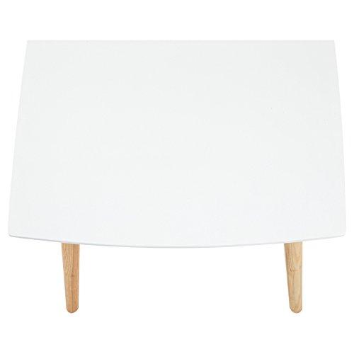 AC Design Furniture Couchtisch Aus Holz Tischplatte Weiß
