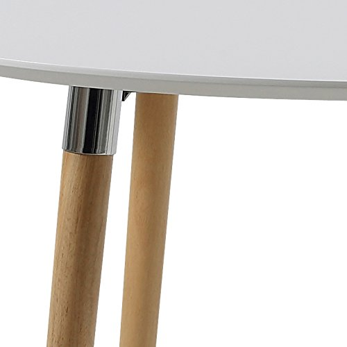 Esstisch Oval Design ~ AC Design Furniture h000013704 Kim Esstisch Holz weißEiche 170 x 100 x 74 cm