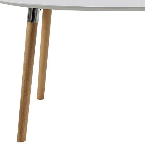 ac design furniture h000013704 kim esstisch holz weiß/eiche 170 x,