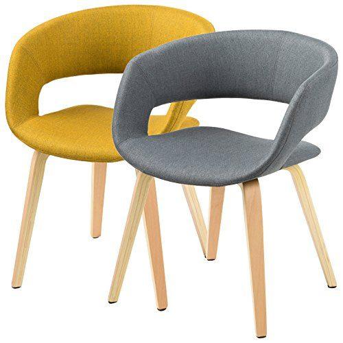 ac design furniture 60105 esszimmerstuhl jack corsica stoff curry online kaufen bei woonio. Black Bedroom Furniture Sets. Home Design Ideas