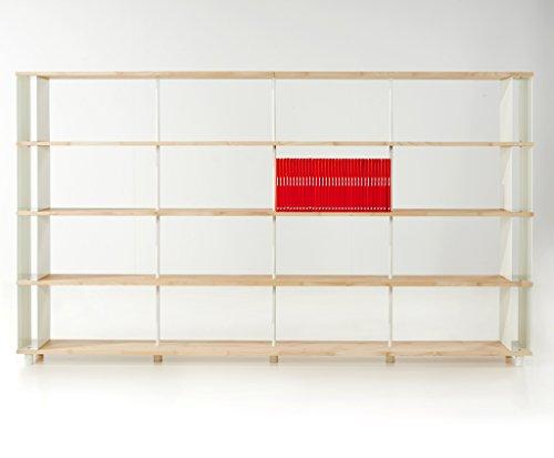 b cherregal skaffalegno massivholz kombinierbare regal wand design einlegeb den made in italy cm. Black Bedroom Furniture Sets. Home Design Ideas