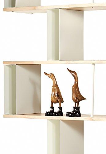 b cherregal skaffawood random massivholz kombinierbare regal wand design einlegeb den made in. Black Bedroom Furniture Sets. Home Design Ideas