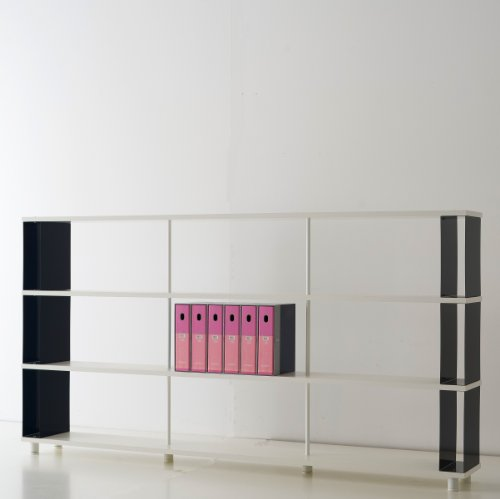 b cherregale skaffa italienische design weisse regale von cm 250 x 130 h x 30 online kaufen bei. Black Bedroom Furniture Sets. Home Design Ideas