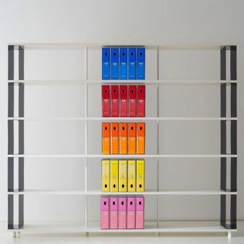 b cherregale skaffa italienische design weisse regale von cm 250 x 211 h x 30 online kaufen bei. Black Bedroom Furniture Sets. Home Design Ideas