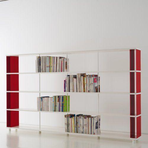 b cherregale skaffa italienische design weisse regale von cm 300 x 171 h x 30 online kaufen bei. Black Bedroom Furniture Sets. Home Design Ideas