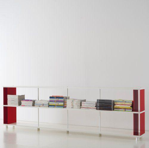 b cherregale skaffa italienische design weisse regale von cm 300 x 90 h x 30 online kaufen bei. Black Bedroom Furniture Sets. Home Design Ideas