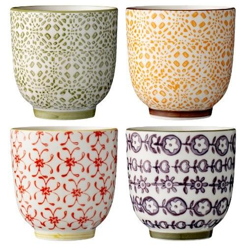bloomingville becher isabella 4 st keramik. Black Bedroom Furniture Sets. Home Design Ideas