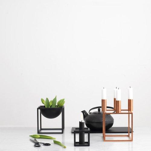 by lassen kerzenst nder kubus 4 kupfer online kaufen bei woonio. Black Bedroom Furniture Sets. Home Design Ideas