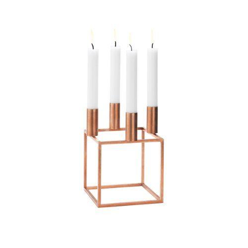 By-Lassen-Kerzenstnder-Kubus-4-kupfer-0