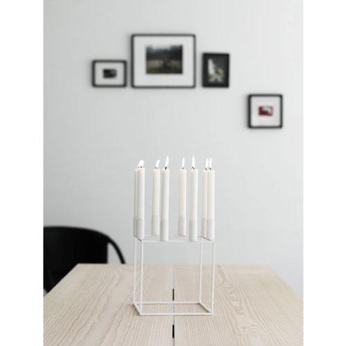 by lassen kerzenst nder kubus 8 wei online kaufen bei woonio. Black Bedroom Furniture Sets. Home Design Ideas