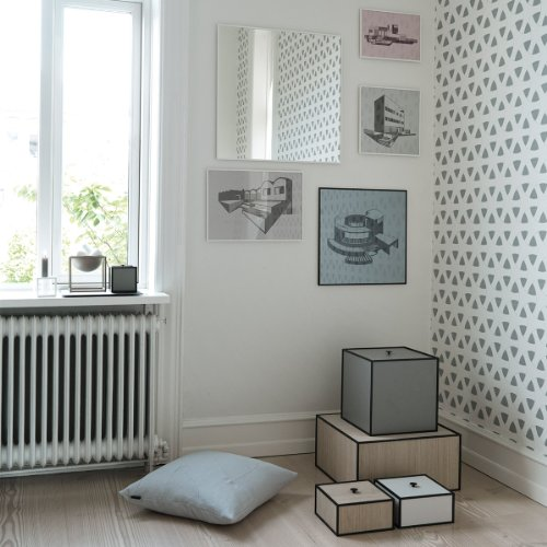 by lassen kissen flow 50cm x 50cm grau online kaufen bei woonio. Black Bedroom Furniture Sets. Home Design Ideas