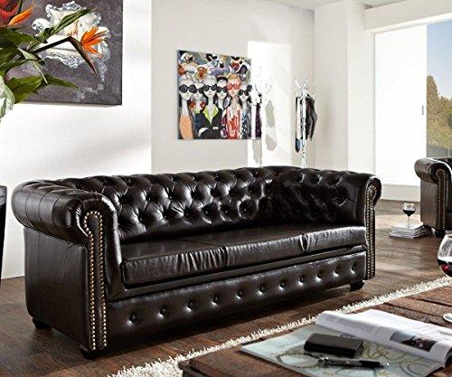 Sofas klein wohnaccessoires online bestellen woonio Chesterfield sofa schwarz