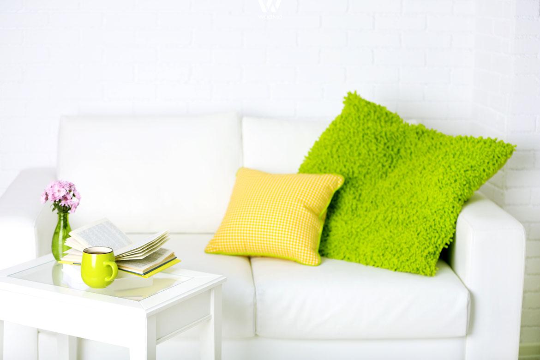 gelb und gr n sind wohl die frischesten farben wohnidee by woonio. Black Bedroom Furniture Sets. Home Design Ideas