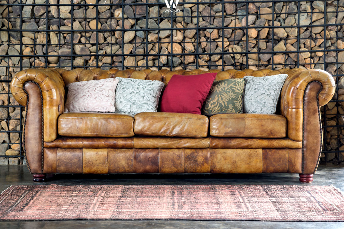 das chesterfield sofa im vintage style wohnidee by woonio. Black Bedroom Furniture Sets. Home Design Ideas