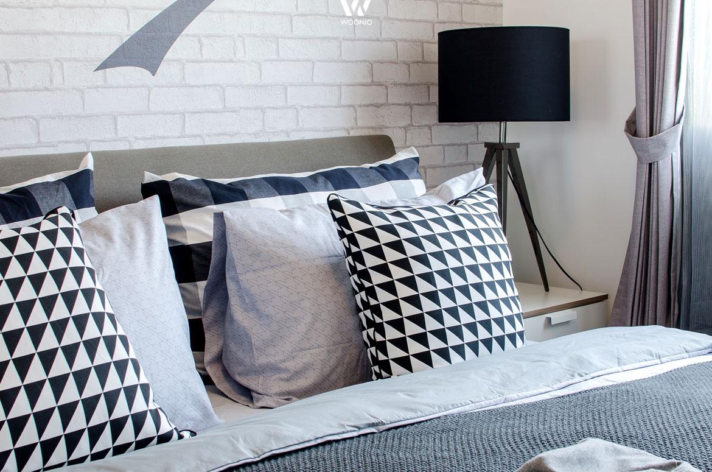 schwarz grau und weiss eine tolle komposition wohnidee by woonio. Black Bedroom Furniture Sets. Home Design Ideas
