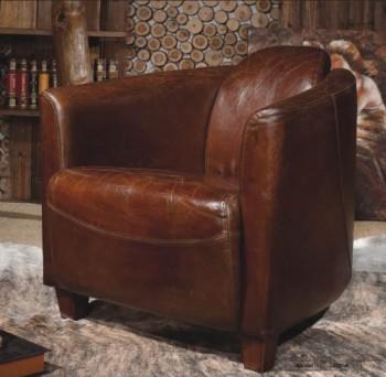 Echtleder-Vintage-Sessel-Ledersessel-Design-Lounge-Clubsessel-Sofa-Mbel-NEU-443-0