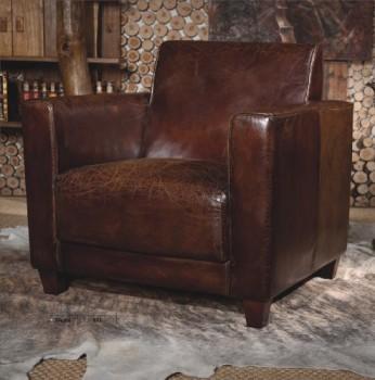 Echtleder-Vintage-Sessel-Ledersessel-Design-Lounge-Sofa-Mbel-NEU-441-0