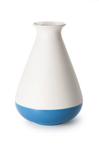 Fat-Ceramics-by-Piet-Hein-Eek-Keramikvase-34-cm-Ceram-Glasur-Wei-Blau-4-teilig-0