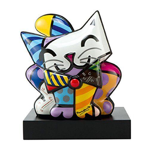 goebel porzellan katze artis orbis britto blue cat 66451030 online kaufen bei woonio. Black Bedroom Furniture Sets. Home Design Ideas