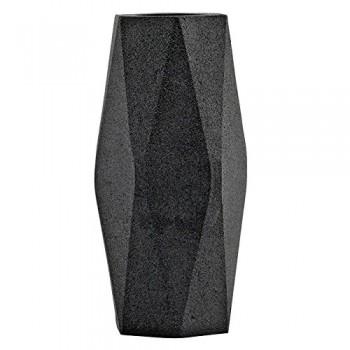 HOUSE-DOCTOR-Ed0114-Vase-Poly-9X18cm-Modern-Farbeschwarz-0