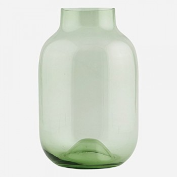 HOUSE-DOCTOR-WI0146-Vase-Emma-grn-21x325cm-recycled-Glas-0