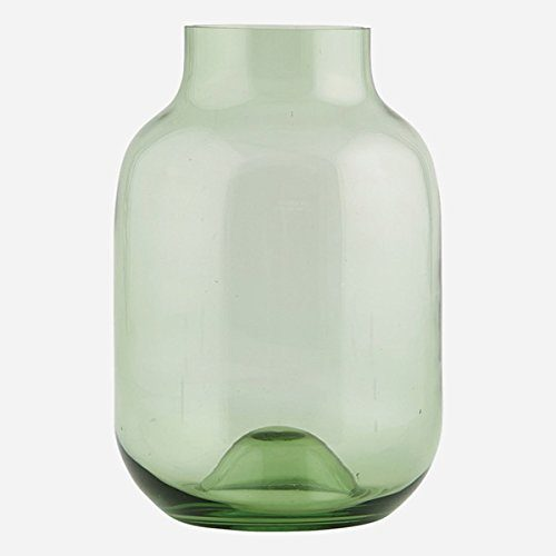 HOUSE-DOCTOR-Wl0143-Vase-Emma-grn-17x25cm-recycled-Glas-0