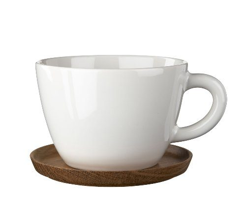 Hgans-Keramik-Becher-wei-05-l-mit-Holzuntersetze-0