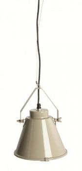 Hngeleuchte-braun-grau-Industrielook-House-Doctor-E27-metall-27x14cm-0