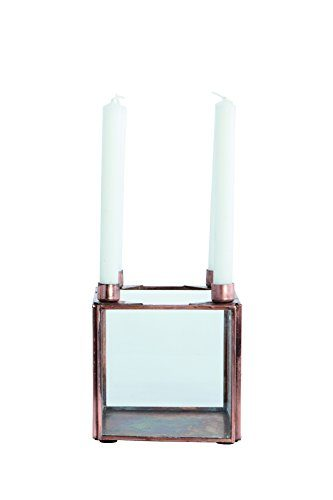 House-Doctor-Kerzenstnder-Square-Kupfer-fr-kleine-Kerzen-0