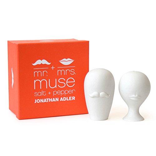 jonathan adler mr mrs muse salt pepper shakers online. Black Bedroom Furniture Sets. Home Design Ideas