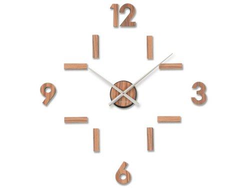 Karlsson Wall Clock Diy Numbers Plastic Wood Online Kaufen