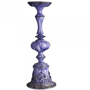 Kerzenstnder-gro-lila-blau-von-Nordal-0