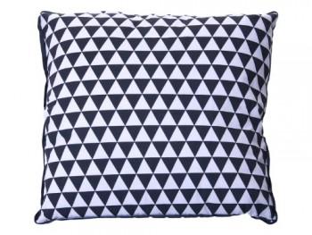 Kissen-Triangles-dunkelgrau-wei-0